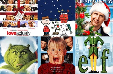 Christmas movies, bracket, classic films