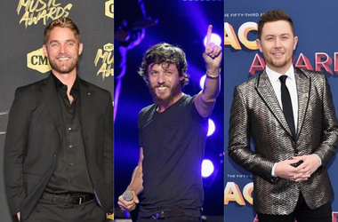 Brett Young, Chris Janson, Scotty McCreery, Livestream, Ryman Auditorium, Concert