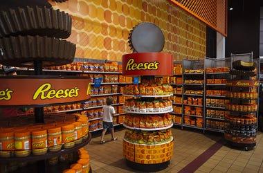 Reese's, Candy, Peanut Butter, Pretzels, Dessert,