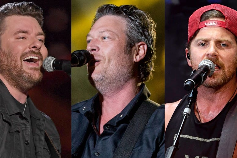 Chris Young, Blake Shelton & Kip Moore