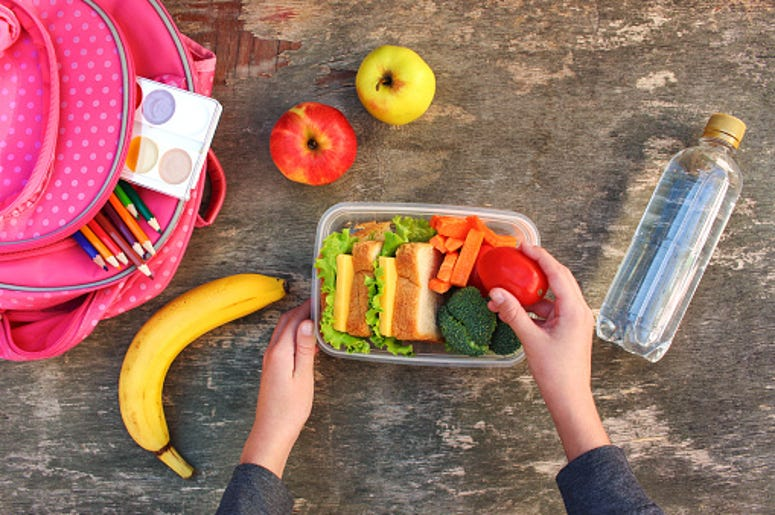 School Lunch, Sandwich, Cafeteria, Debt