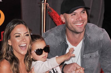 Jana Kramer & her family at the Incredibles 2 premiere