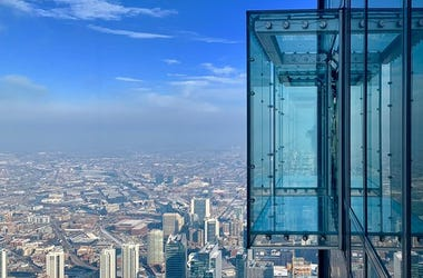 Willis Tower, Skydeck, Couples, Marriage, Wedding, Valentine's Day