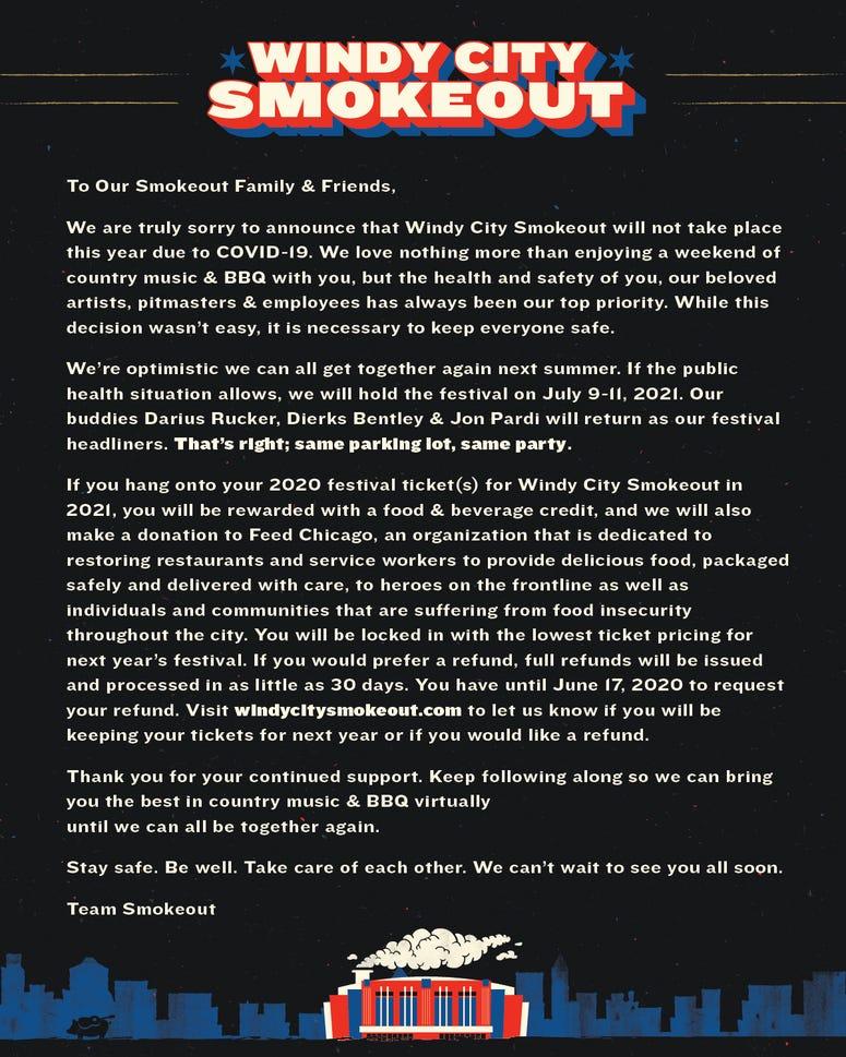 Smokeout 2020 update