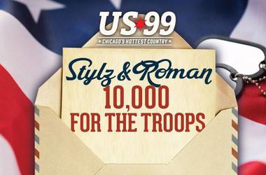 Stylz & Roman's 10,000 For The Troops