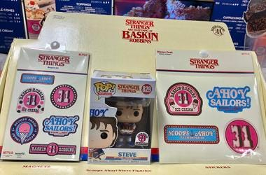 Baskin Robins  Stranger Things