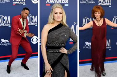 Jimmie Allen, Carrie Underwood, Reba McEntire