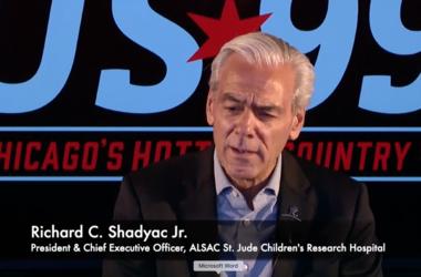 St. Jude, CEO, Rick Shadyac, Hospital