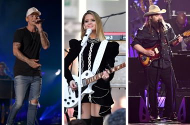 Kane Brown, Maren Morris and Chris Stapleton
