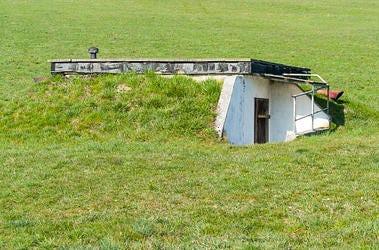 bunker, underground