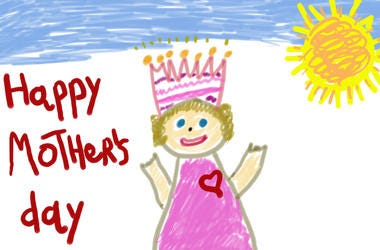 Mother's Day drawing