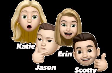 US*99 Morning Show, Katie Bright, Scotty Kay, Jason Pullman, Erin Creedon