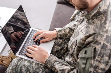 solider, military, army, message, computer