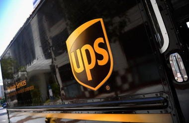 ups driver, delivery, dogs
