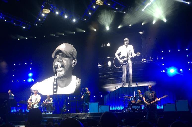 Darius on Stage