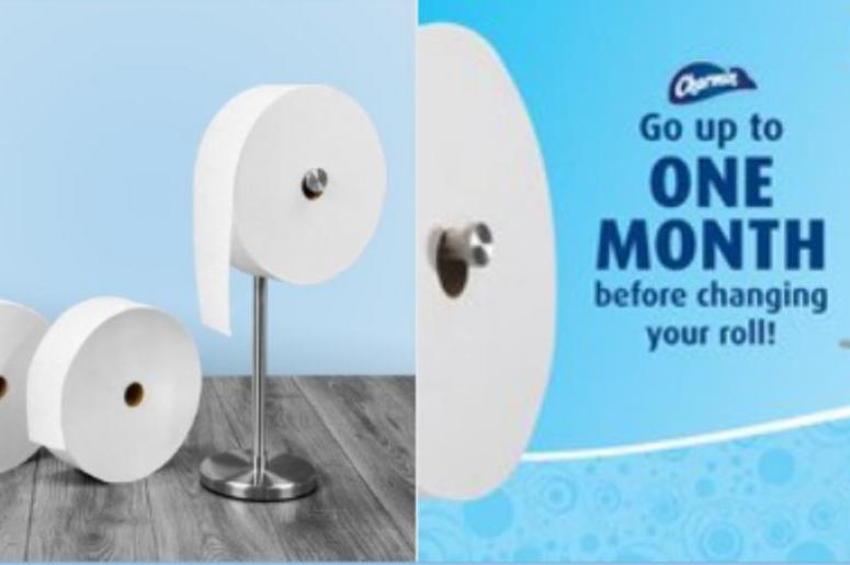 Charmin Is Selling Large Rolls Called Forever Rolls Us99