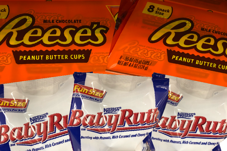 Reeses vs Baby Ruth