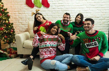 Christmas, Ugly Sweater, Party, Holiday
