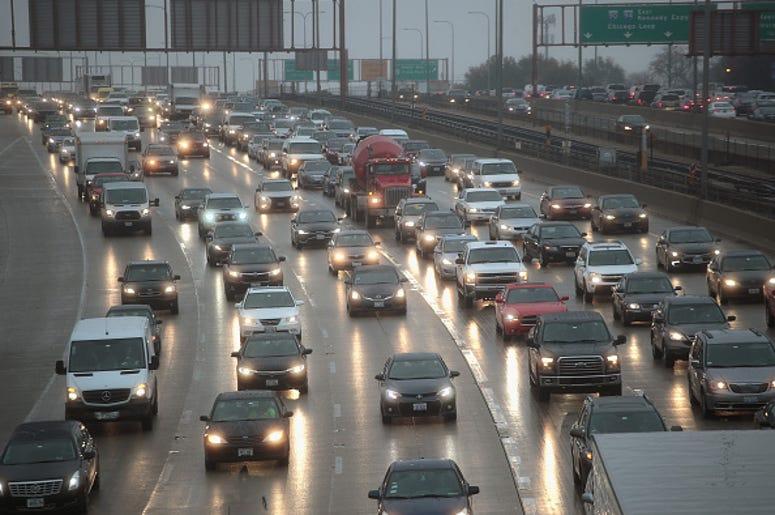 traffic, roads, Chicago