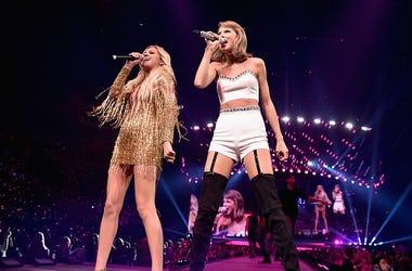 Taylor Swift, Kelsea Ballerini, Folklore, Listening, Red Wine, Text, Drink