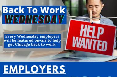 Jobs, Employer, Back to Work, Wednesday, US*99, Scotty