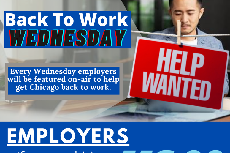 Jobs, Employer, US*99, Back to Work, Wednesday