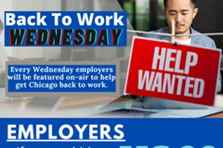 Jobs, Employers, Back to Work, Wednesday, US*99