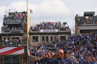 Wrigley Field, Rooftops, Chicago, Cubs, Fans
