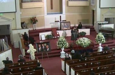 Funeral service for C.T. Vivian was held Thursday at Providence Missionary Baptist Church in Atlanta, GA