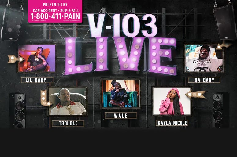 V-103 Live Presented by 1-800-411-PAIN