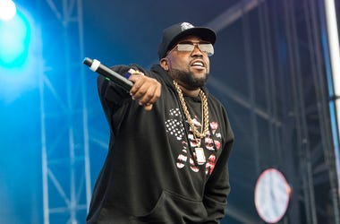 Big Boi of Big Grams performs at Governors Ball on June 3, 2016 in New York, NY.