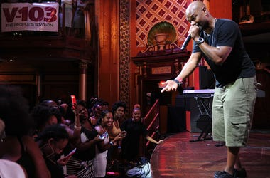 ATLANTA, GA - AUGUST 15: Big Tigger hosts BET Music Matters Presents The Showcase Brought To You By Nissan at Atlanta Event Center at Opera on August 15, 2015 in Atlanta, Georgia.