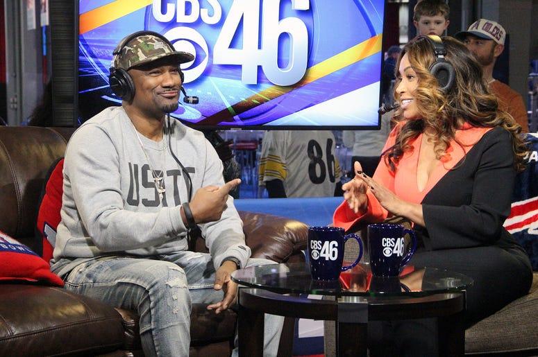 Sharon Reed of CBS46 Interviews Big Tigger Live