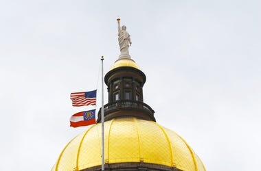 Flags were ordered flown at half staff as former State Senator Leroy Johnson is remembered in Georgia