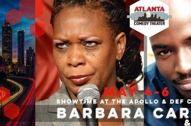 Atlanta Comedy Theater Presents Barbara Carlyle and Turae