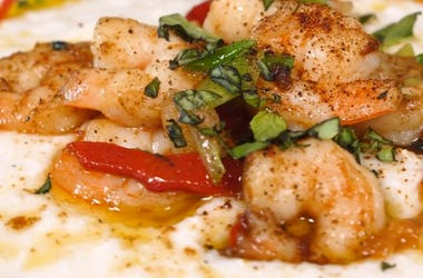 Ramona DeBreaux's Cajun Shrimp & Grits with Wayfield Foods