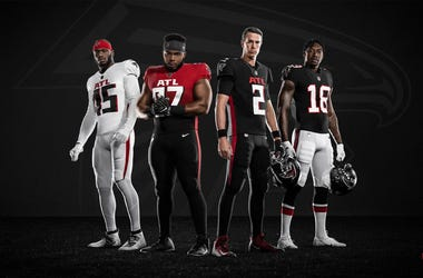 2020 Atlanta Falcons New Uniforms