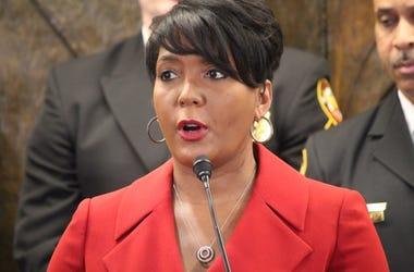 Atlanta Mayor Keisha Lance Bottoms says we have to stay at home to save lives during the coronavirus pandemic.