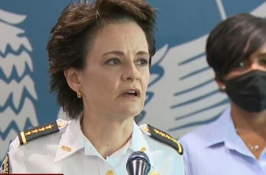 Atlanta Police Chief Erika Shields has resigned following the fatal shooting of a black man