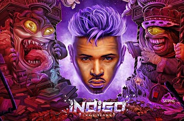 Chris Brown Indigo Cover Art