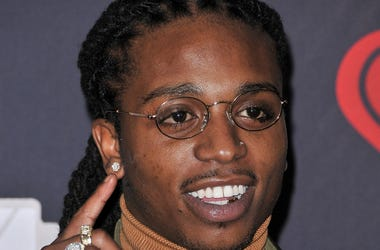 Jacquees at the 2018 iHeartRadio Music Awards held at The Forum on March 11, 2018 in Inglewood, CA, USA