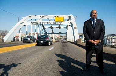 The Final Crossing Ceremony is being held Sunday morning in Selma for the late Rep John Lewis