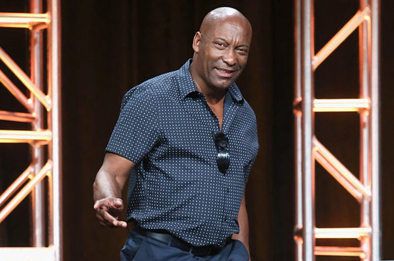 Director John Singleton speaks onstage at 'The People v. O.J. Simpson: American Crime Story' panel discussion during the FX portion of the 2016 Television Critics Association Summer Tour at The Beverly Hilton Hotel on August 9, 2016 in Beverly Hills, Cali