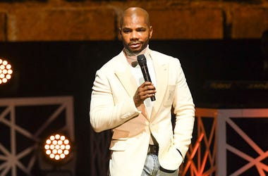Kirk Franklin speaks at 2017 BMI Trailblazers of Gospel Music at Rialto Center for the Arts on January 14, 2017 in Atlanta, Georgia.
