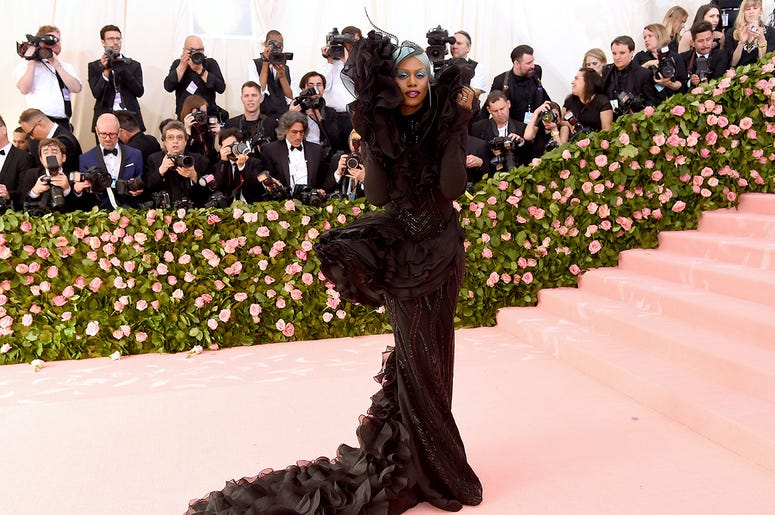 Laverne Cox attends the 2019 Met Gala.