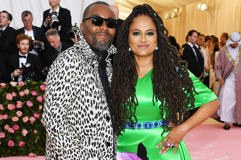 Lee Daniels and Ava Duvernay attend the 2019 Met Gala.