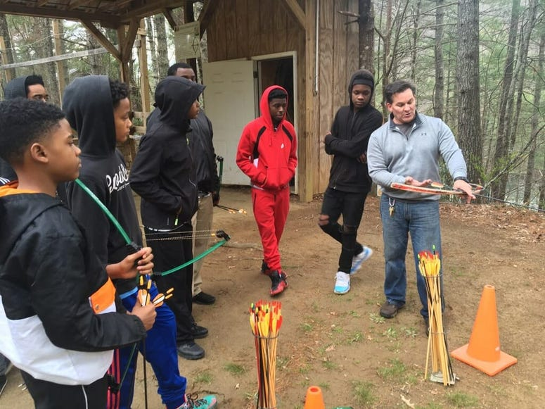 The 3-day conference includes a trip to YMCA Camp High Harbour in Cartersville.
