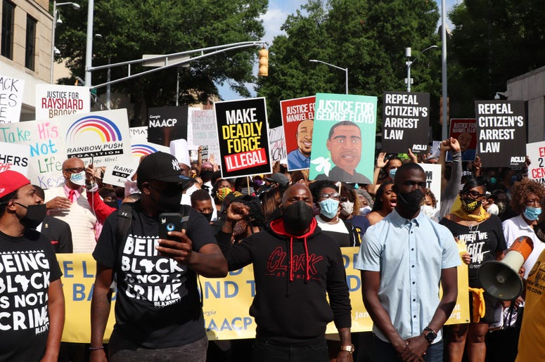 Georgia NAACP March on Georgia Protest-1