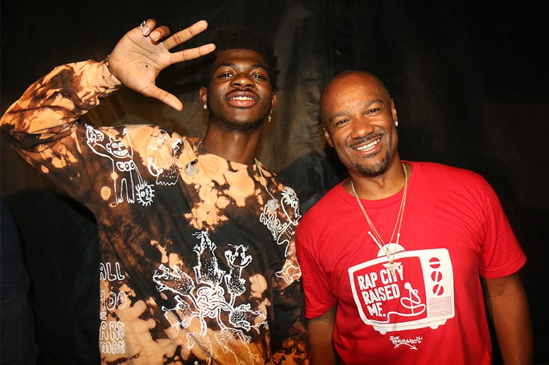 Lil Nas X And Big Tigger At One Music Fest