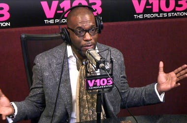 Pastor Jamal Bryant talks to V-103's Frank Ski about replacing Bishop Eddie Long at Atlanta's New Birth Missionary Baptist Church